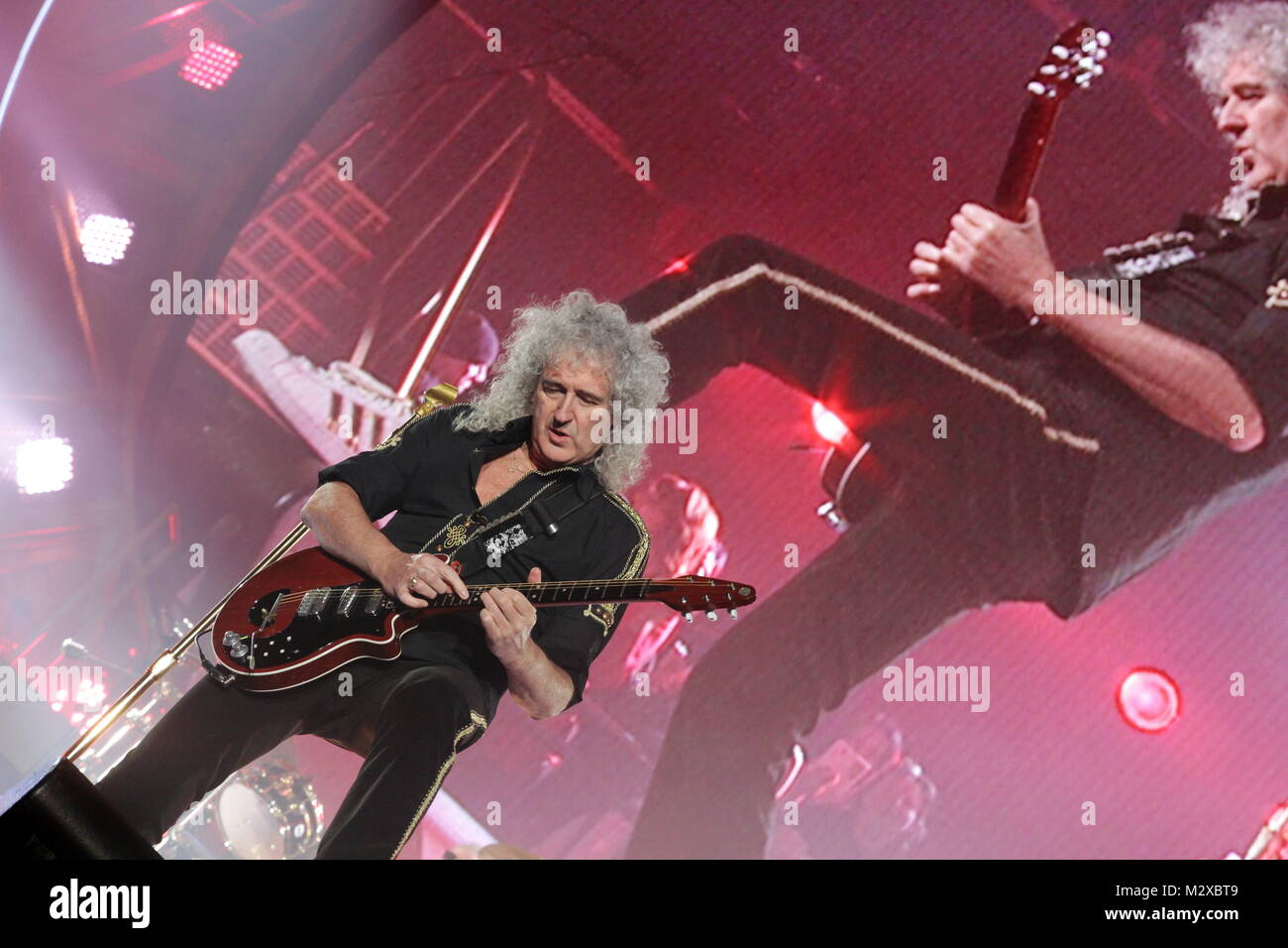 brian may queen guitar stock photos brian may queen. Black Bedroom Furniture Sets. Home Design Ideas