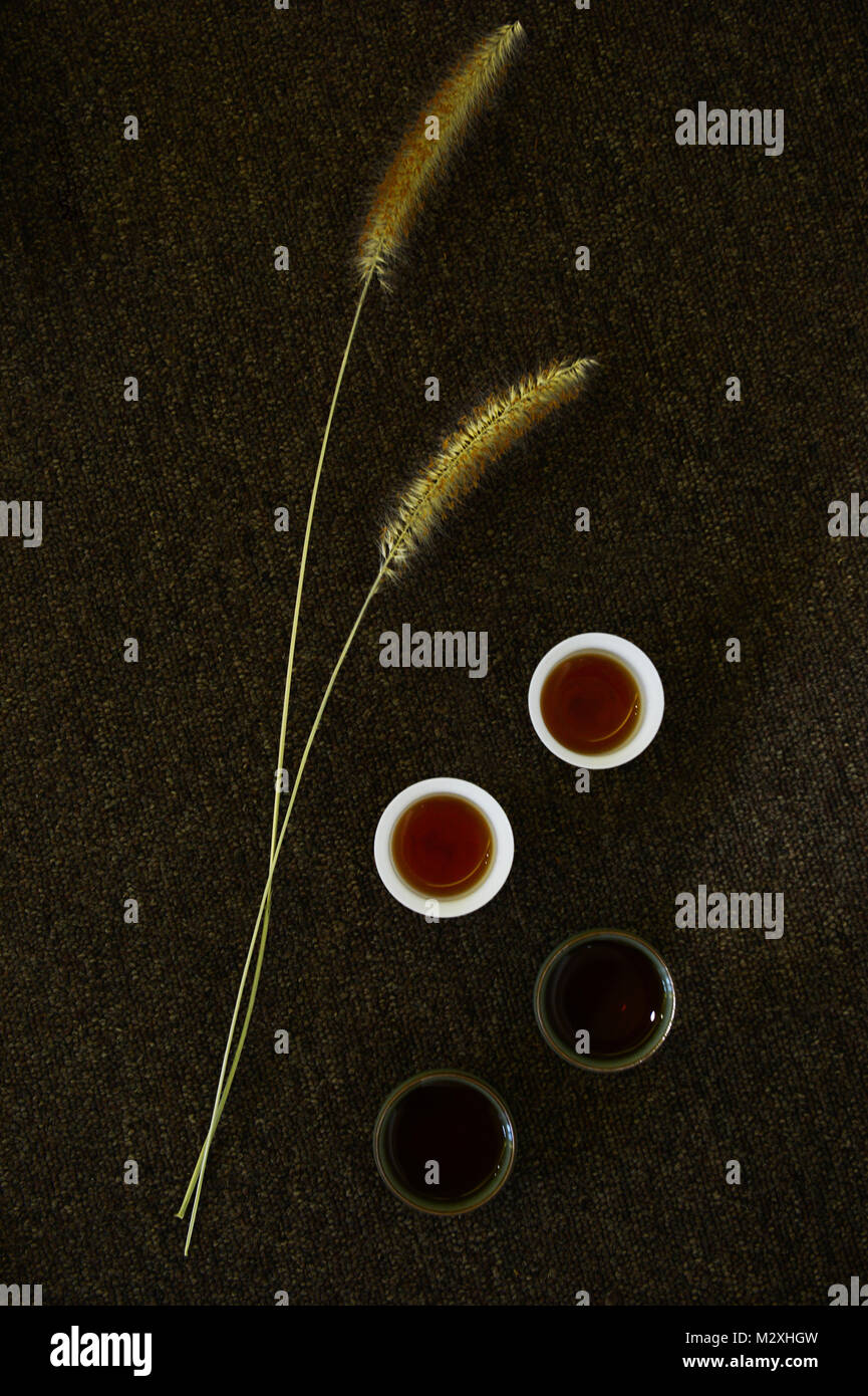 Tea set - Stock Image