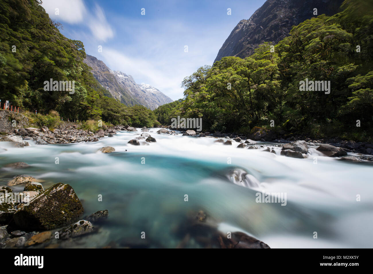Queenstown, South Island, New Zealand - Stock Image