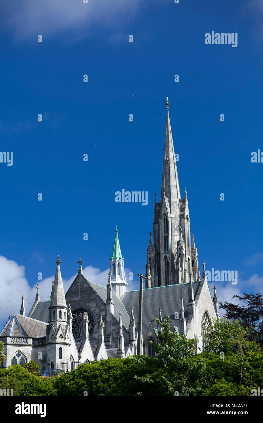 Architectural sights of south island church in New Zealand - Stock Image