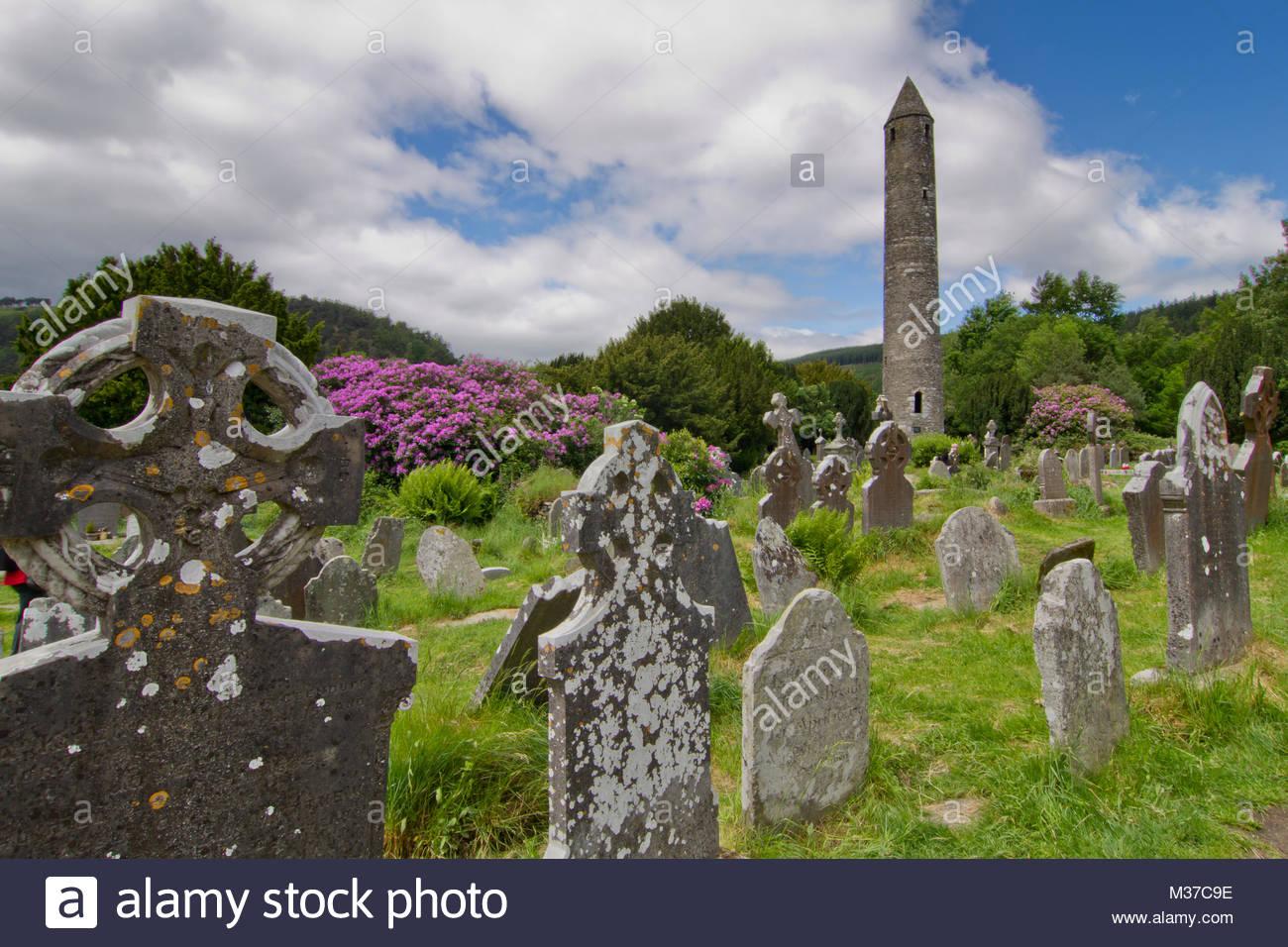 Glendalough - Stock Image
