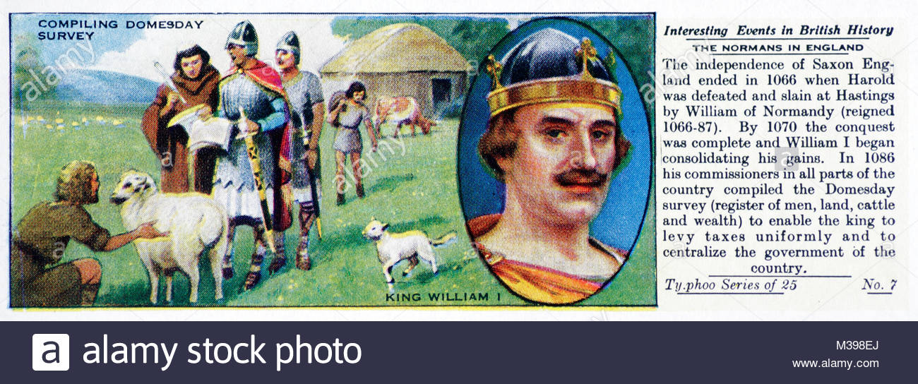 Interesting Events in British History - The Normans of England - Stock Image