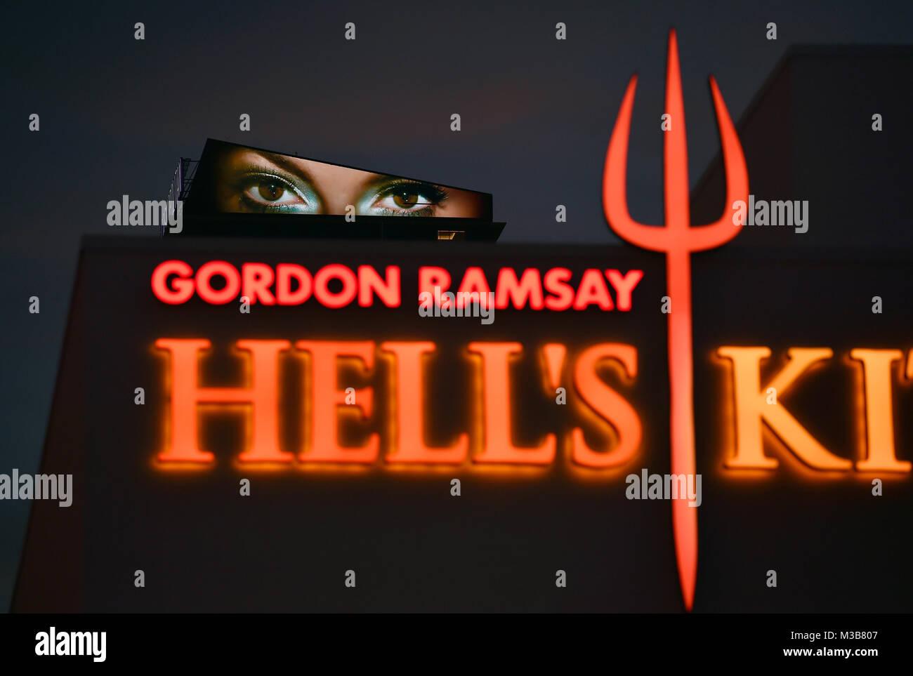 Hell Kitchen Las Vegas Nevada