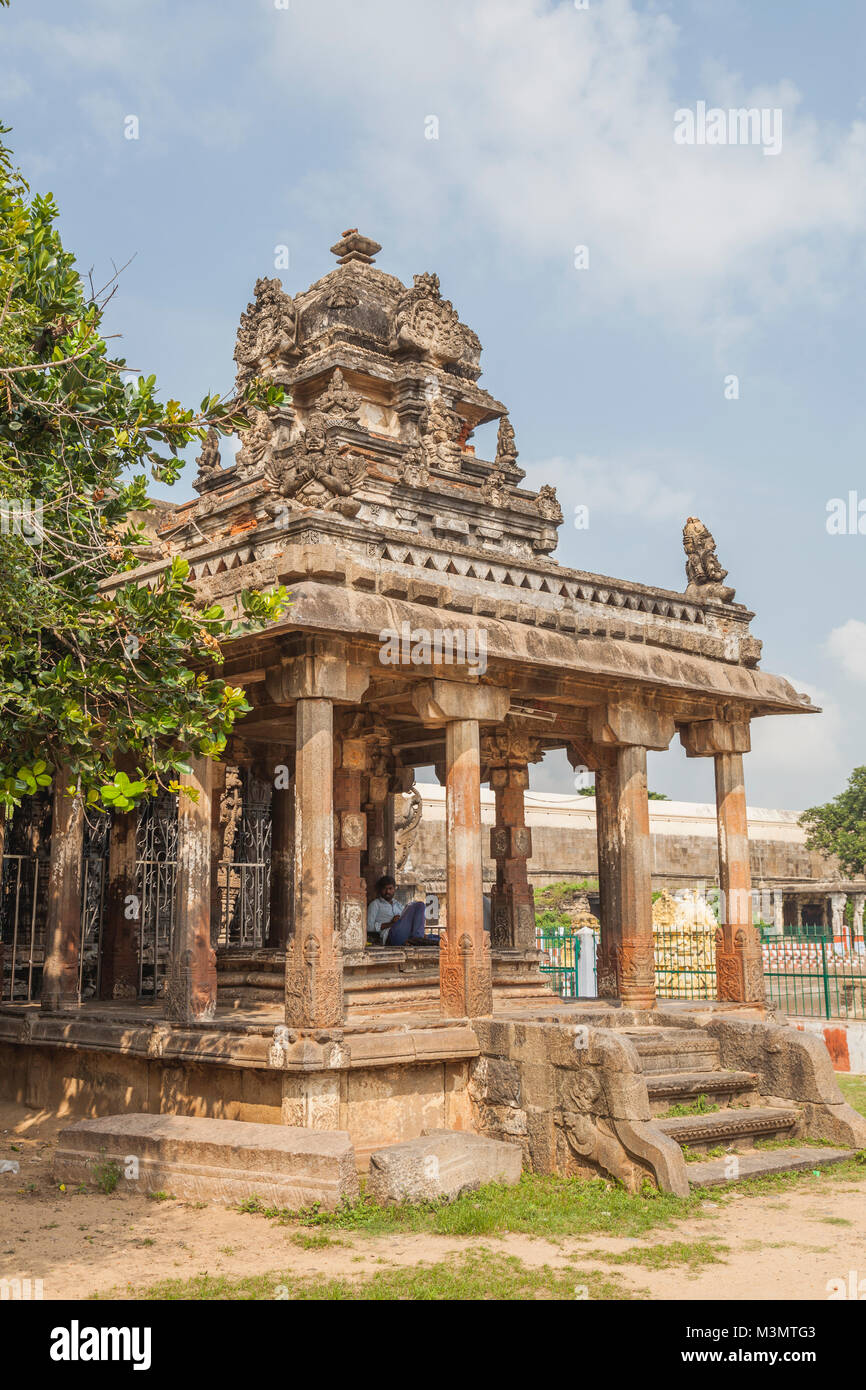 Kanchipuram Temple Stock Photos and Images