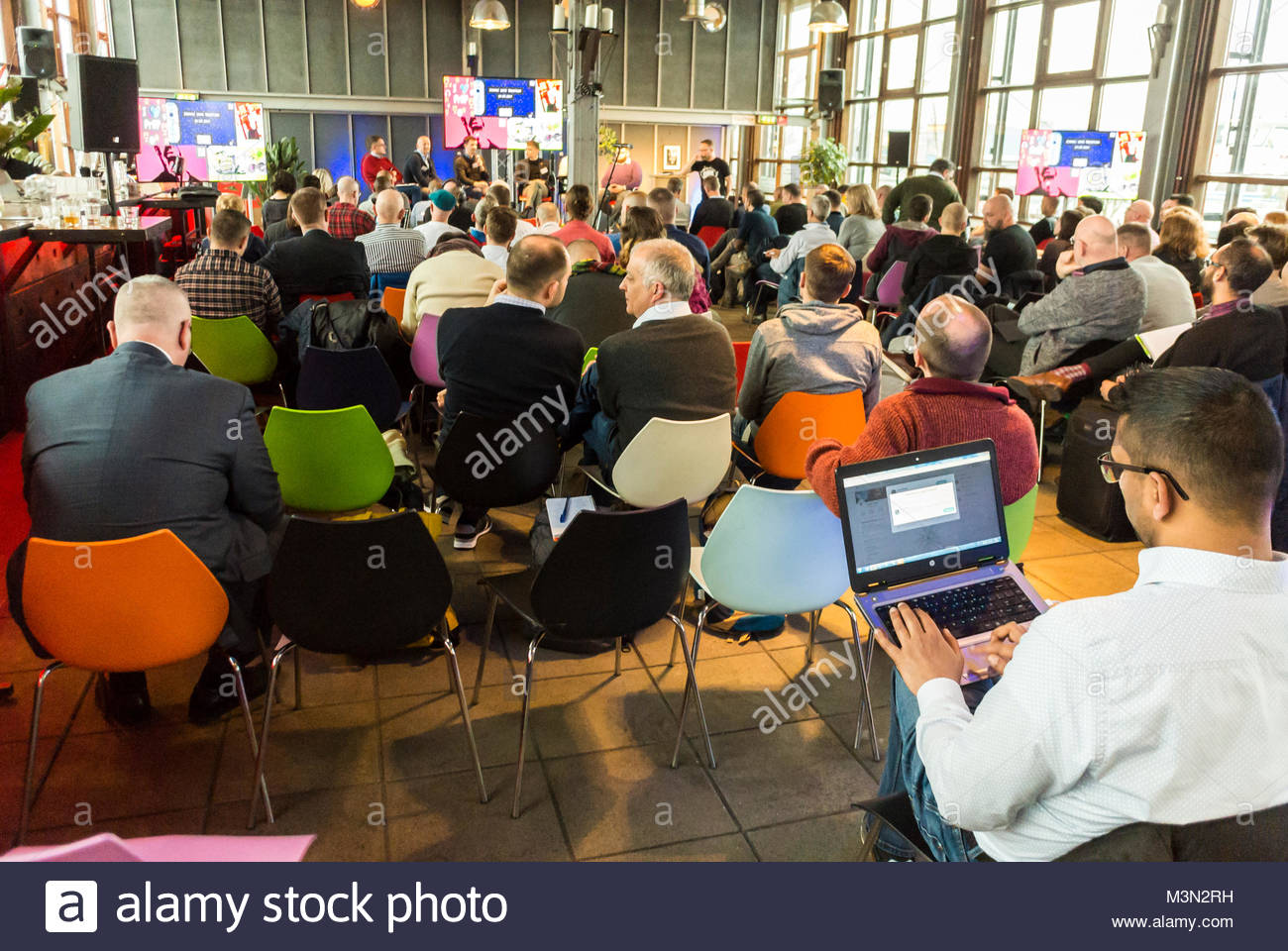 Amsterdam, Holland, PrEP in Europe Summit 2018 - Stock Image