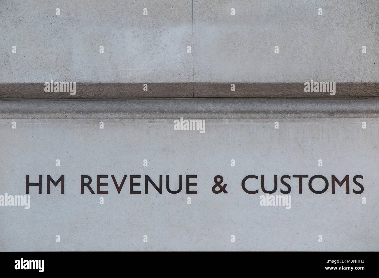 The HM Revenue and Customs offices in London SW1 - Stock Image
