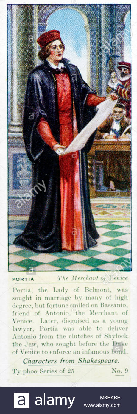 The character of portia in william shakespeares play the merchant of venice