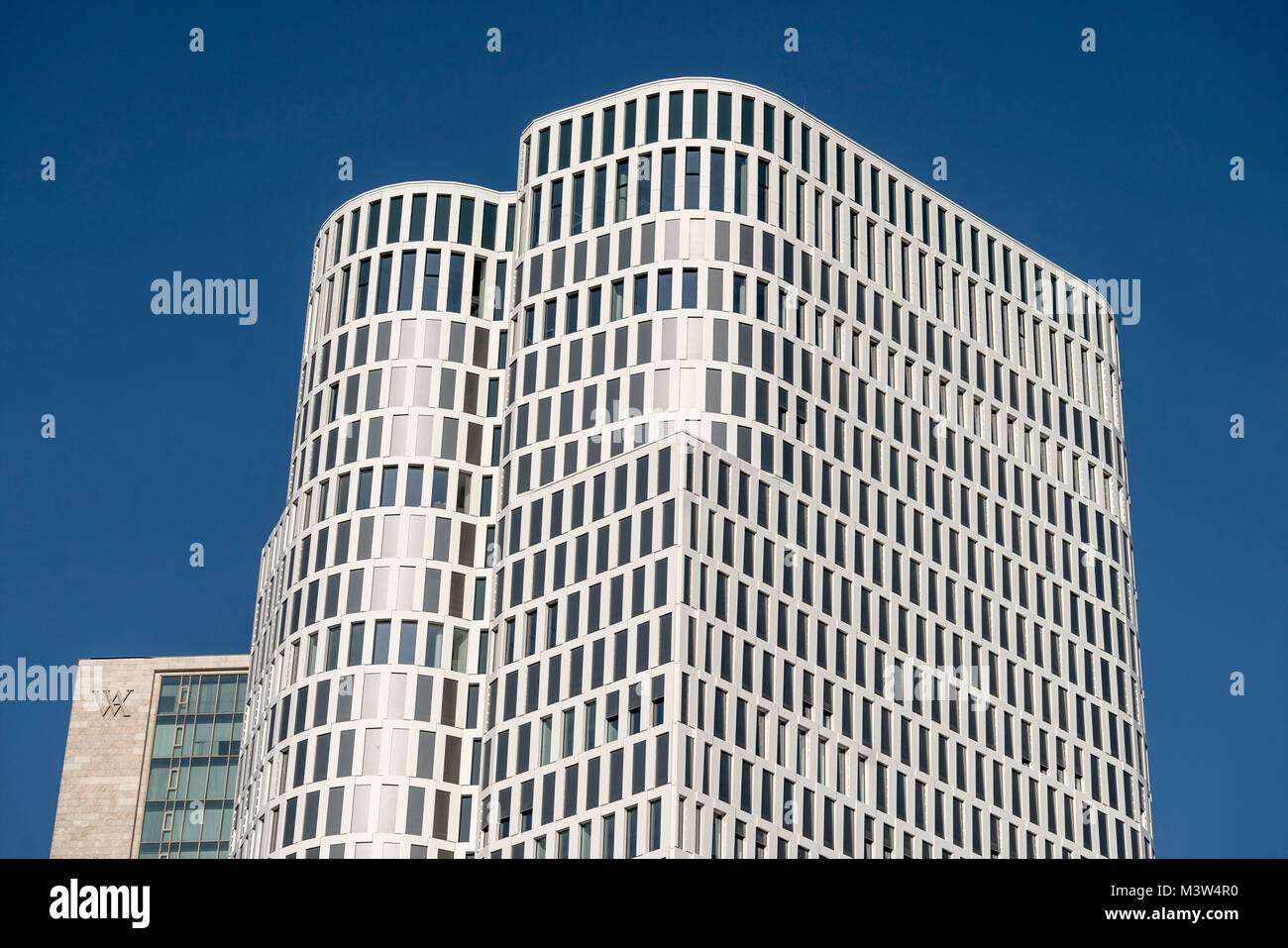 Upper West Zoofenster, Atlas tower, Breitscheidplatz, City West, Berlin, Germany - Stock Image