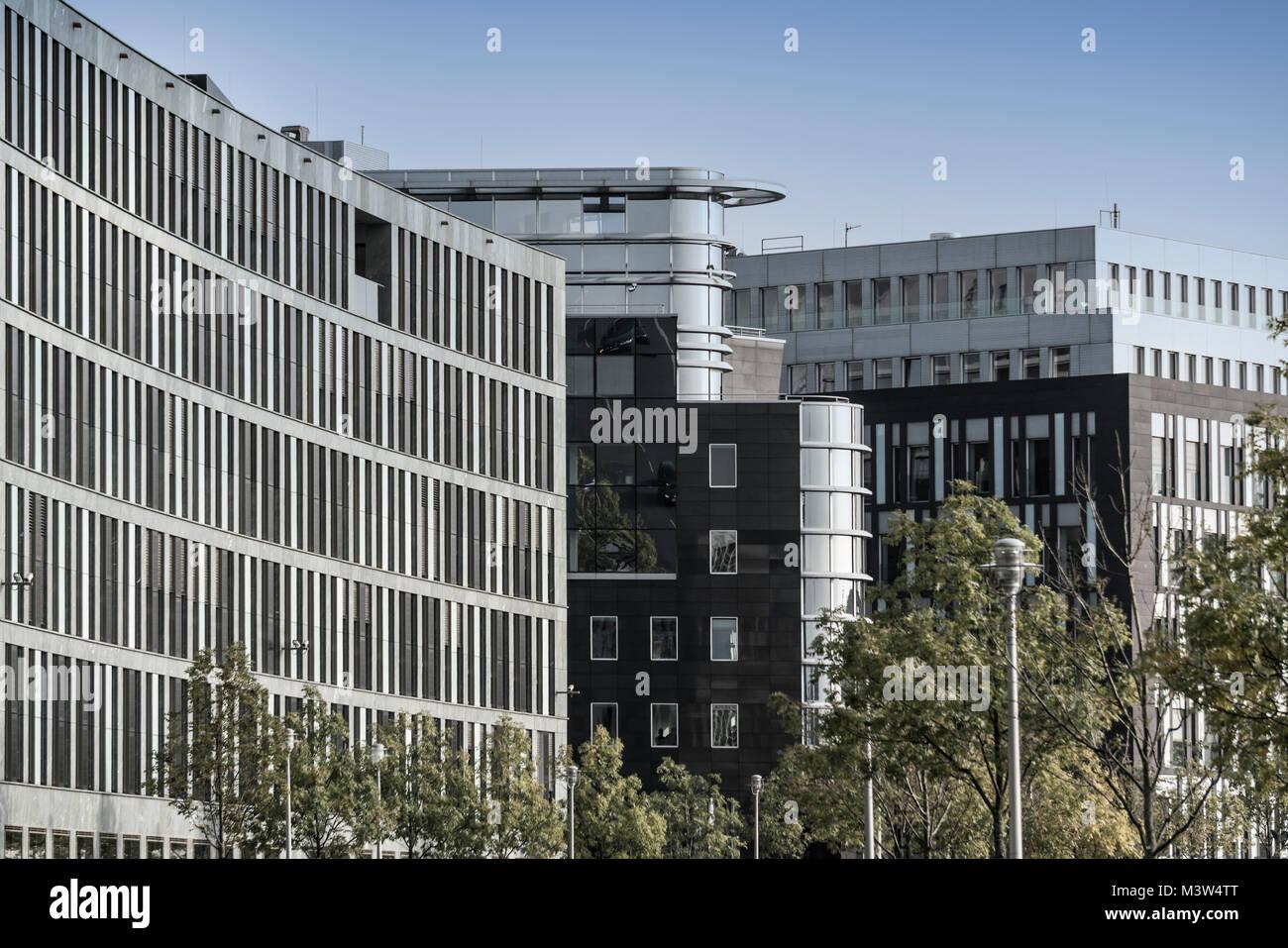 Modern architecture, Spree Eck, Berlin - Stock Image