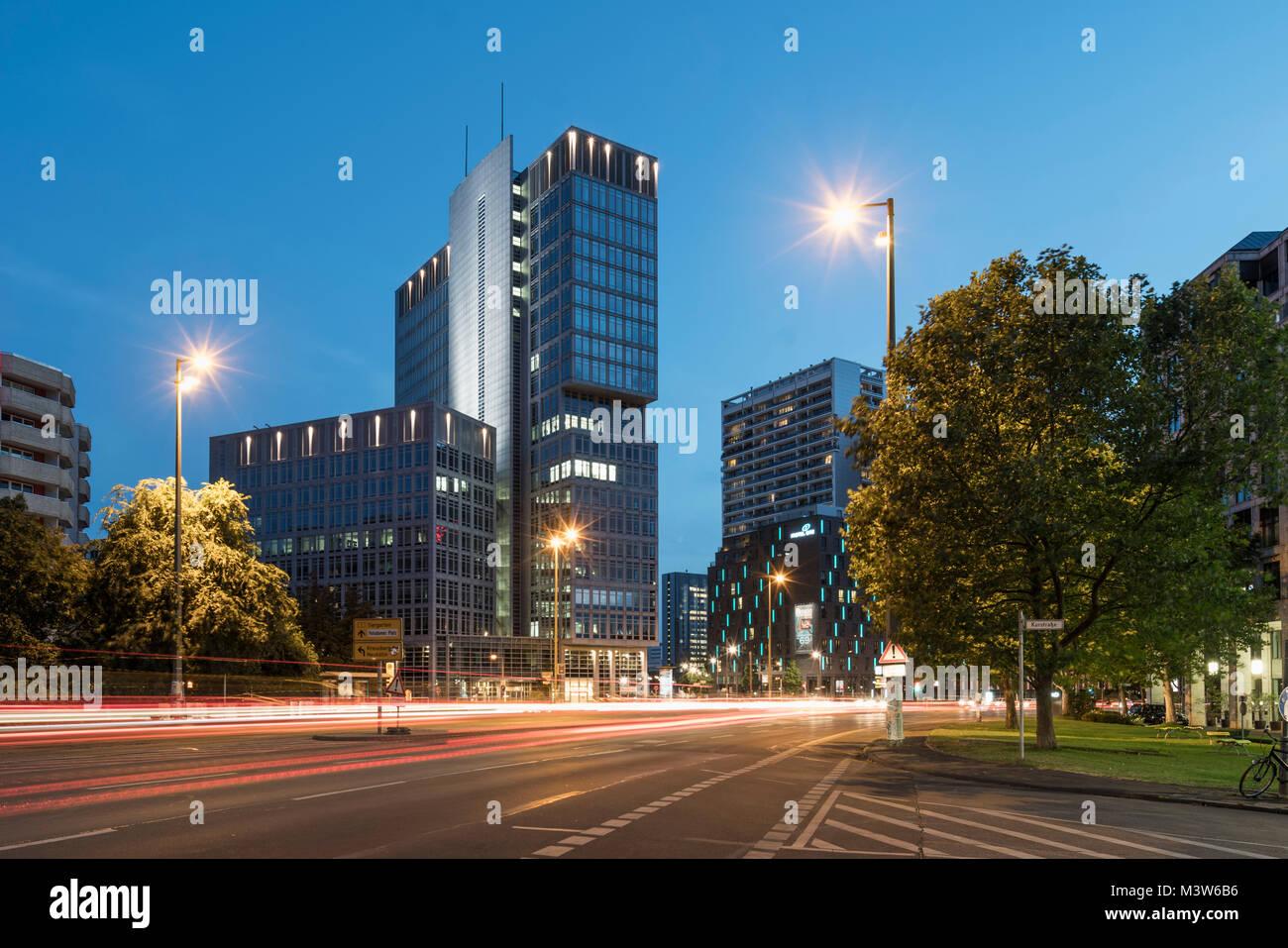 Office complex at Spittelmarkt. Berlin. Germany - Stock Image