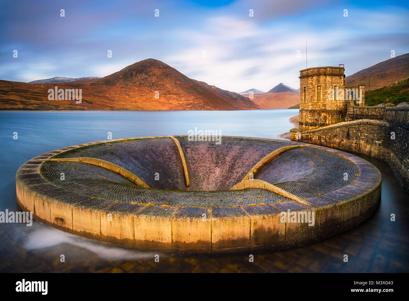 Silent Vally at Co. Down - Northern Ireland - Stock Image