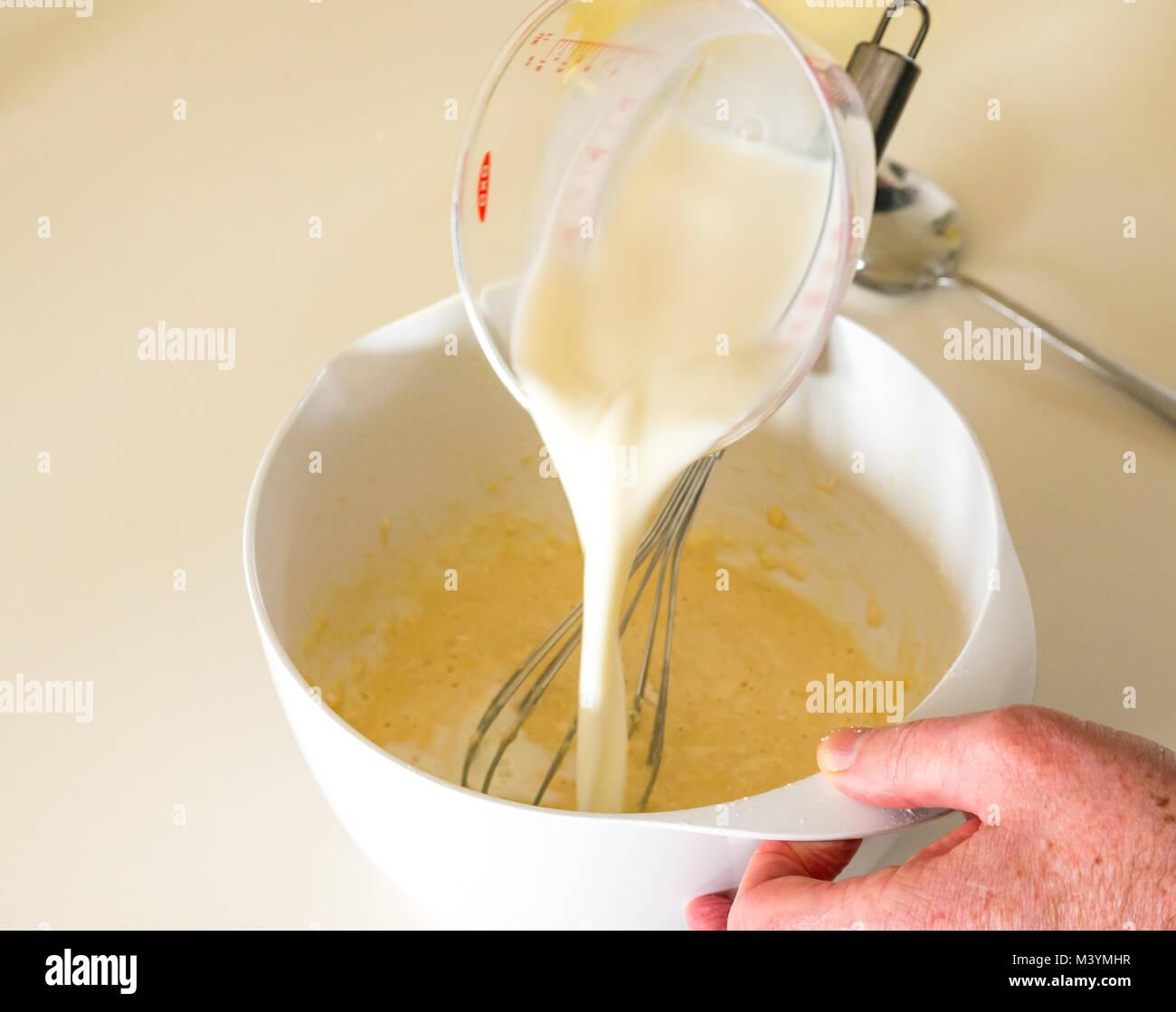 how to make powdered milk into milk