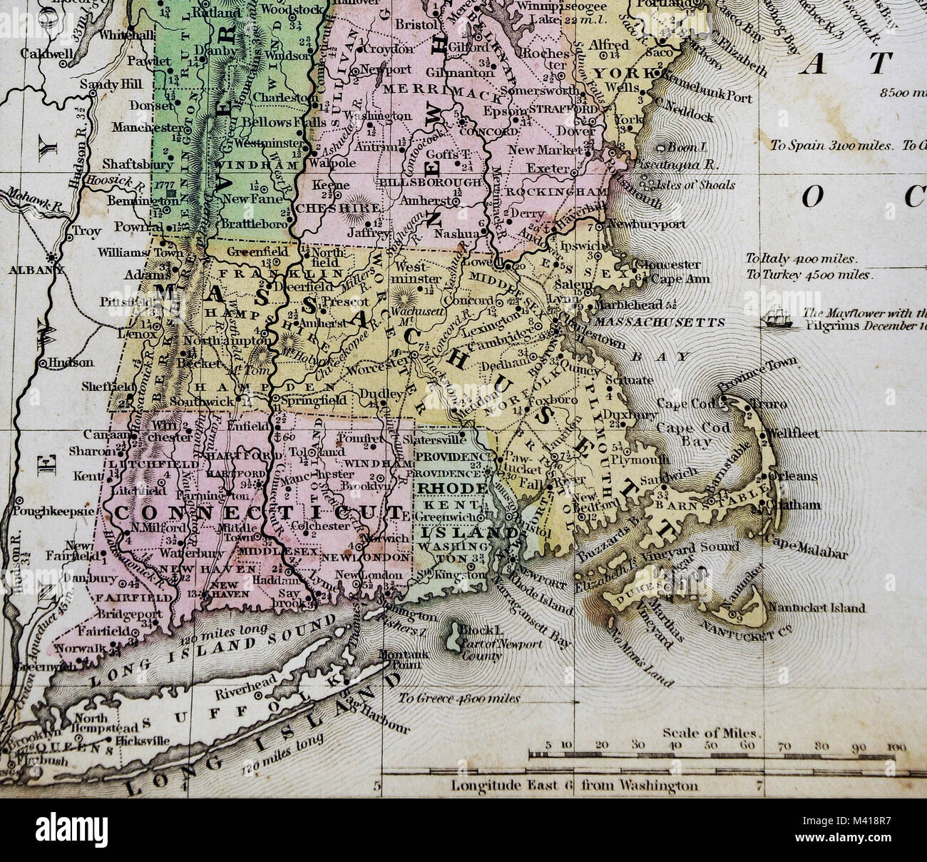 Fixing Up An Old New Englander In Maine: Old Map Of Boston Stock Photos & Old Map Of Boston Stock