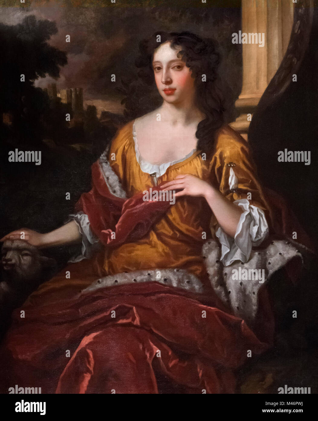 Mary of Modena as Duchess of York (Maria Beatrice Anna Margherita Isabella d'Este; 1658-1718), Queen consort - Stock Image