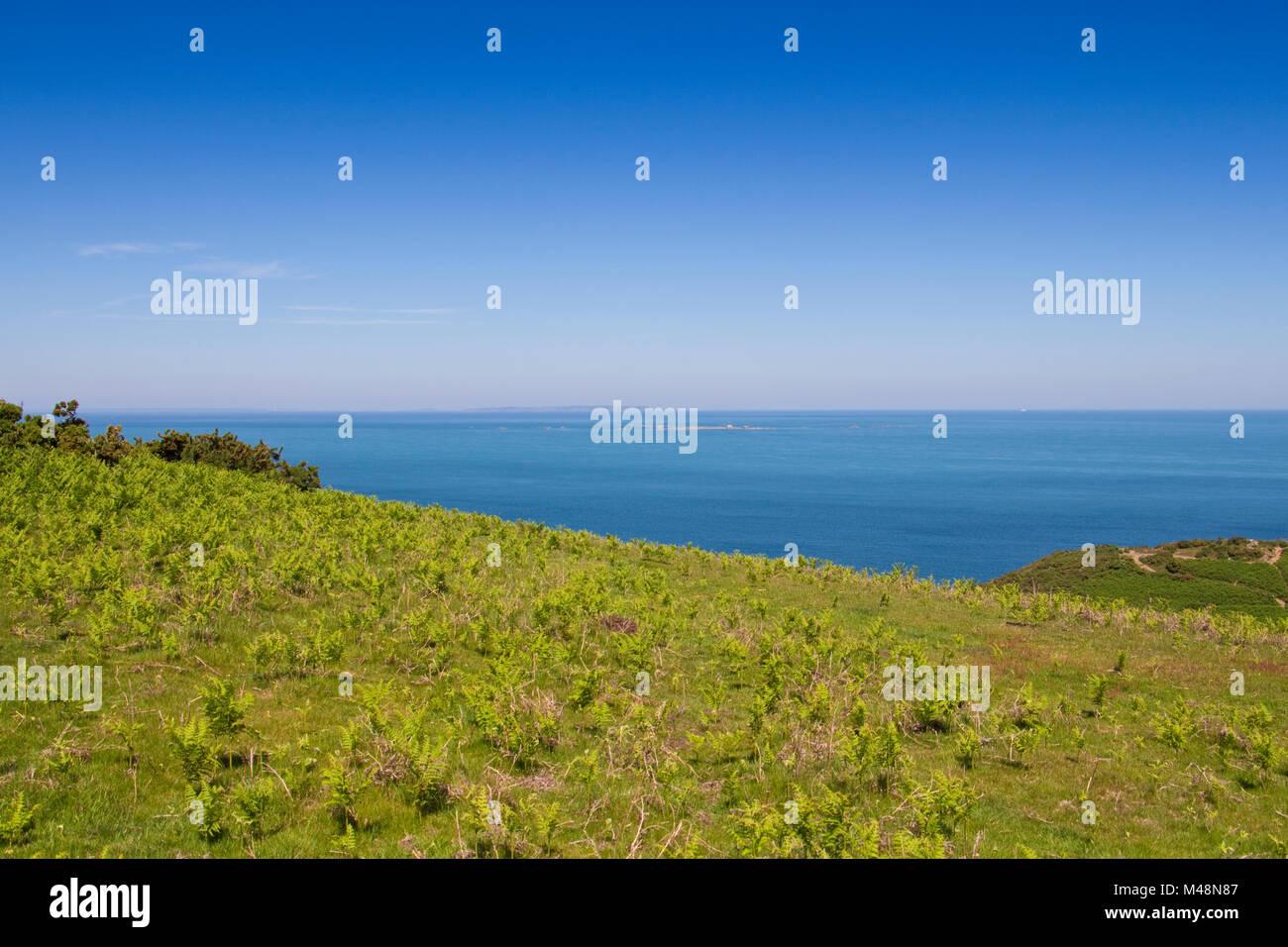 Jersey uk beaches stock photos jersey uk beaches stock for Garden design jersey channel islands