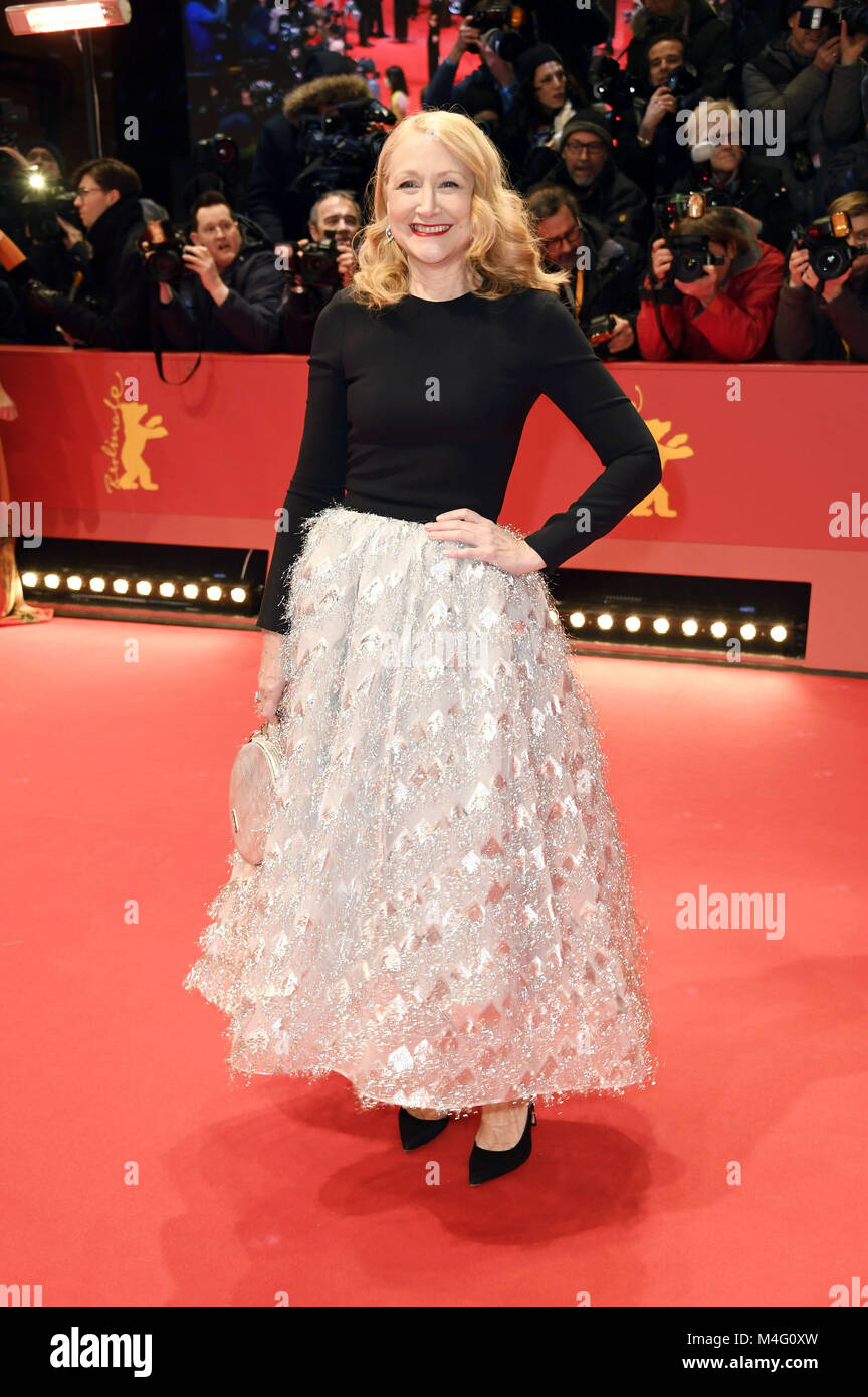 Berlin, Germany. 15th Feb, 2018. Patricia Clarkson attending the 'Isle Of Dogs' premiere at the 68th Berlin - Stock Image