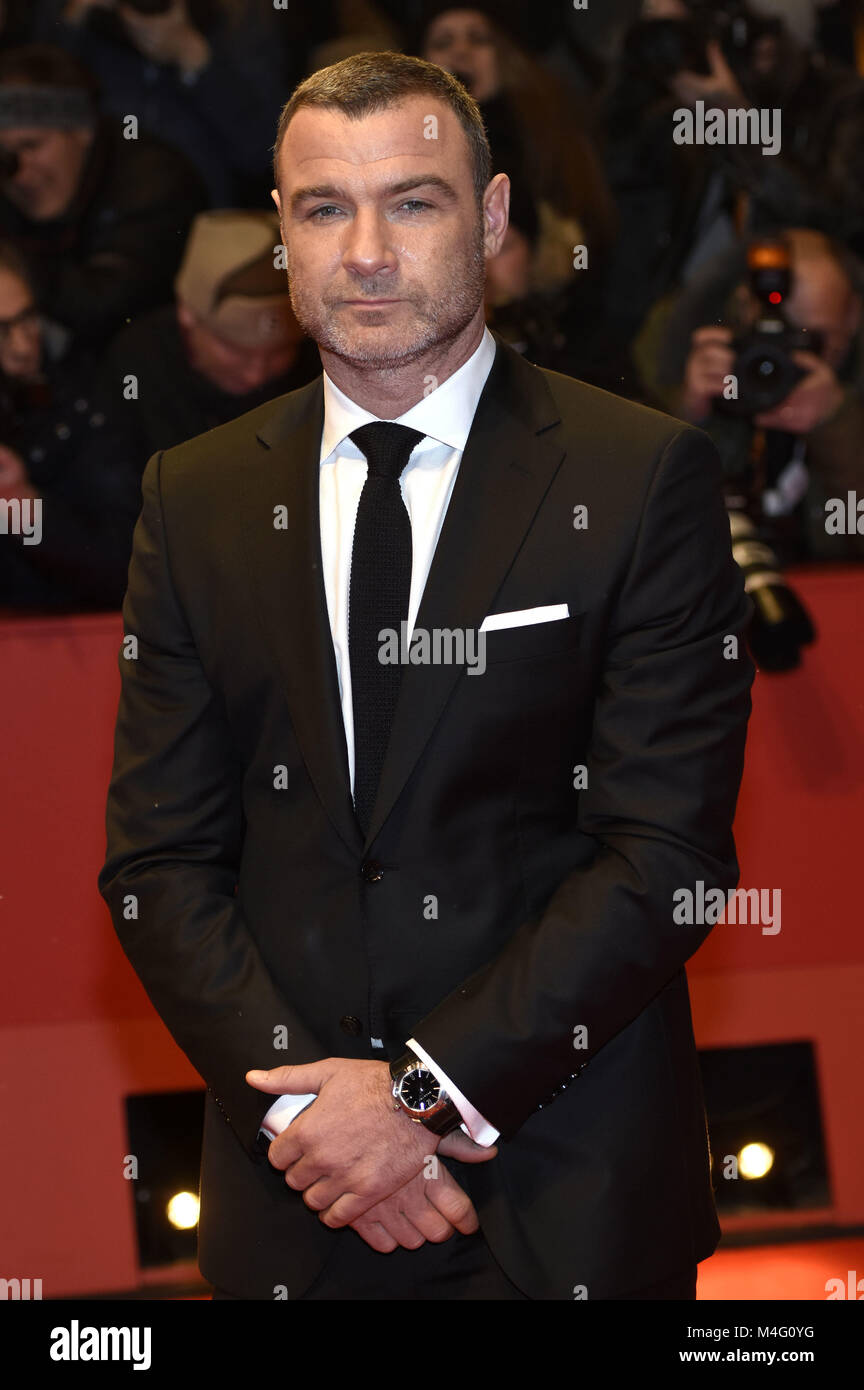 Berlin, Germany. 15th Feb, 2018. Liev Schreiber attending the 'Isle Of Dogs' premiere at the 68th Berlin - Stock Image