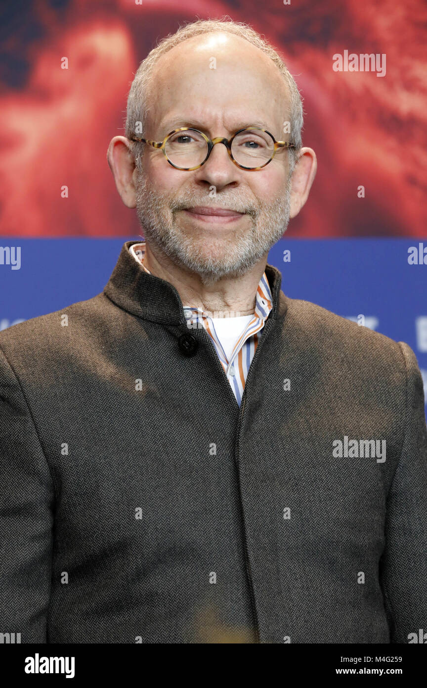 Bob Balaban during the 'Isle of Dogs' press conference at the 68th Berlin International Film Festival/Berlinale - Stock Image