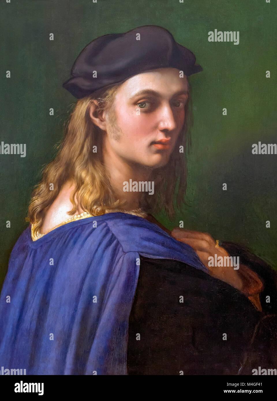 Bindo Altoviti, Raphael, circa 1515, National Gallery of Art, Washington DC, USA, North America - Stock Image