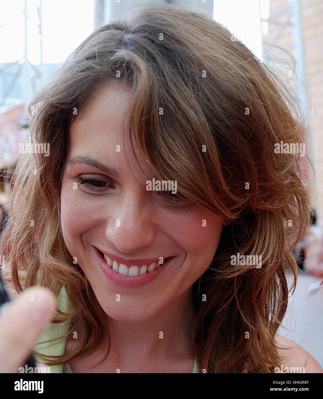 Giffoni Valle Piana, Sa, Italy - July 27, 2010 : Isabella Ragonese at Giffoni Film Festival 2010 - on July 27, 2010 - Stock Image