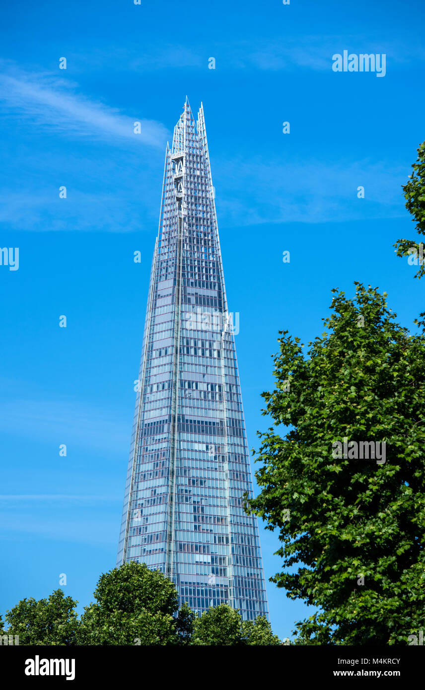The Shard building in London, England, UK - Stock Image