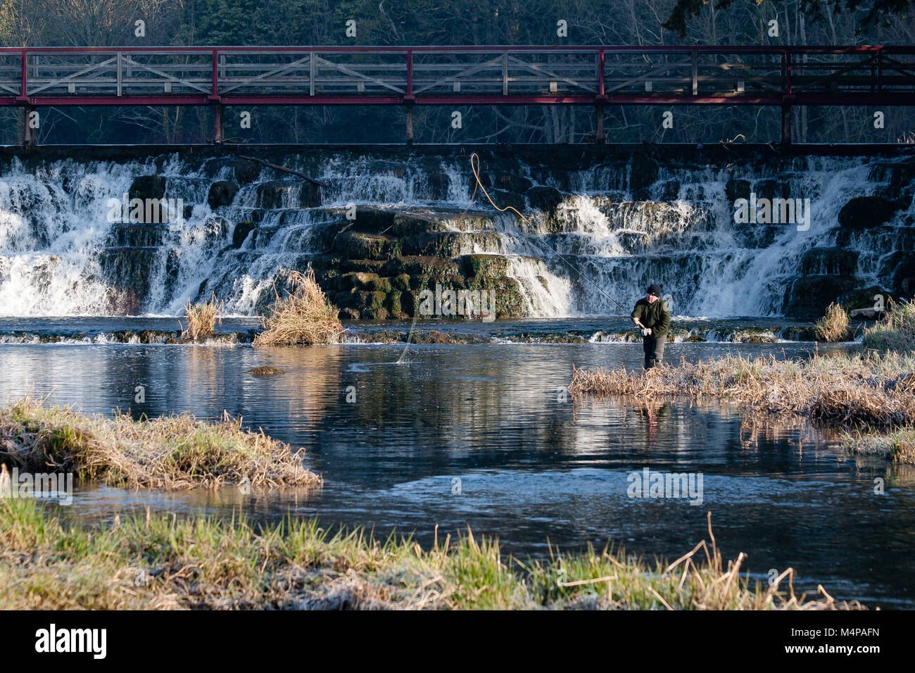 man-angler-fly-fishing-at-the-salmon-lea