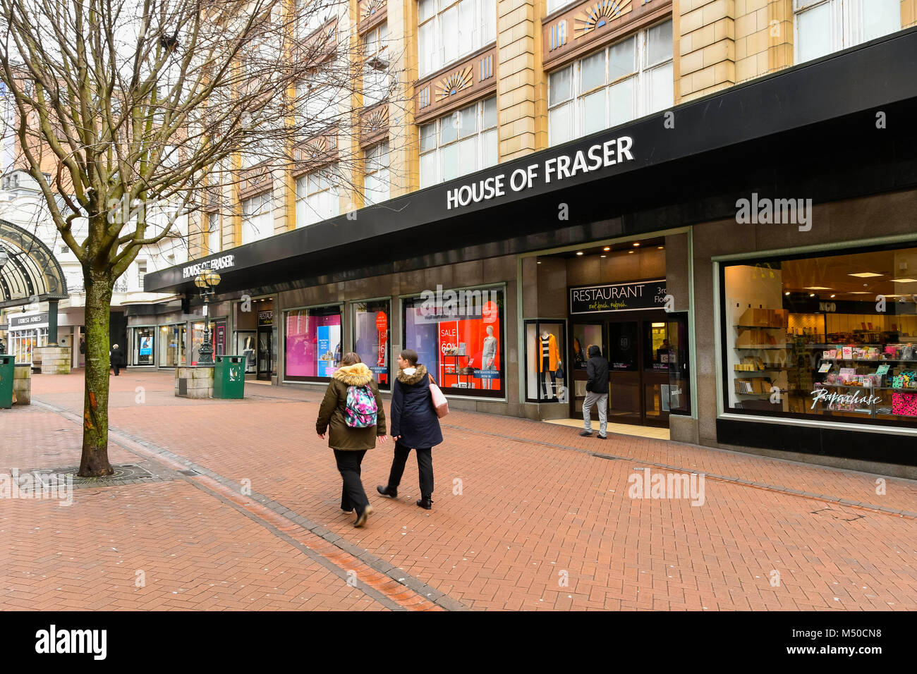 Fashion bournemouth stock photos fashion bournemouth for Quality classic house of fraser