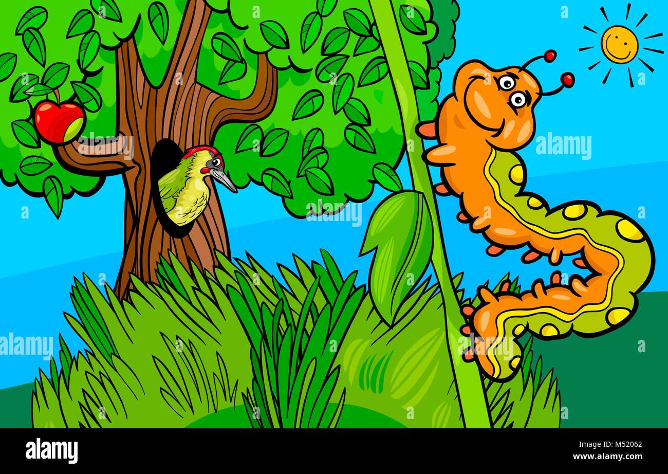 Woodpecker design stock photos