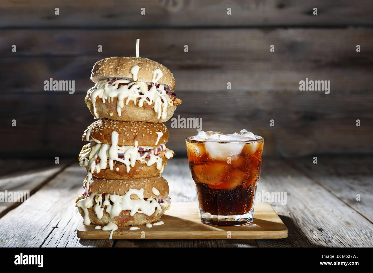 Concept: Oktoberfest, food festival, fast food - Stock Image