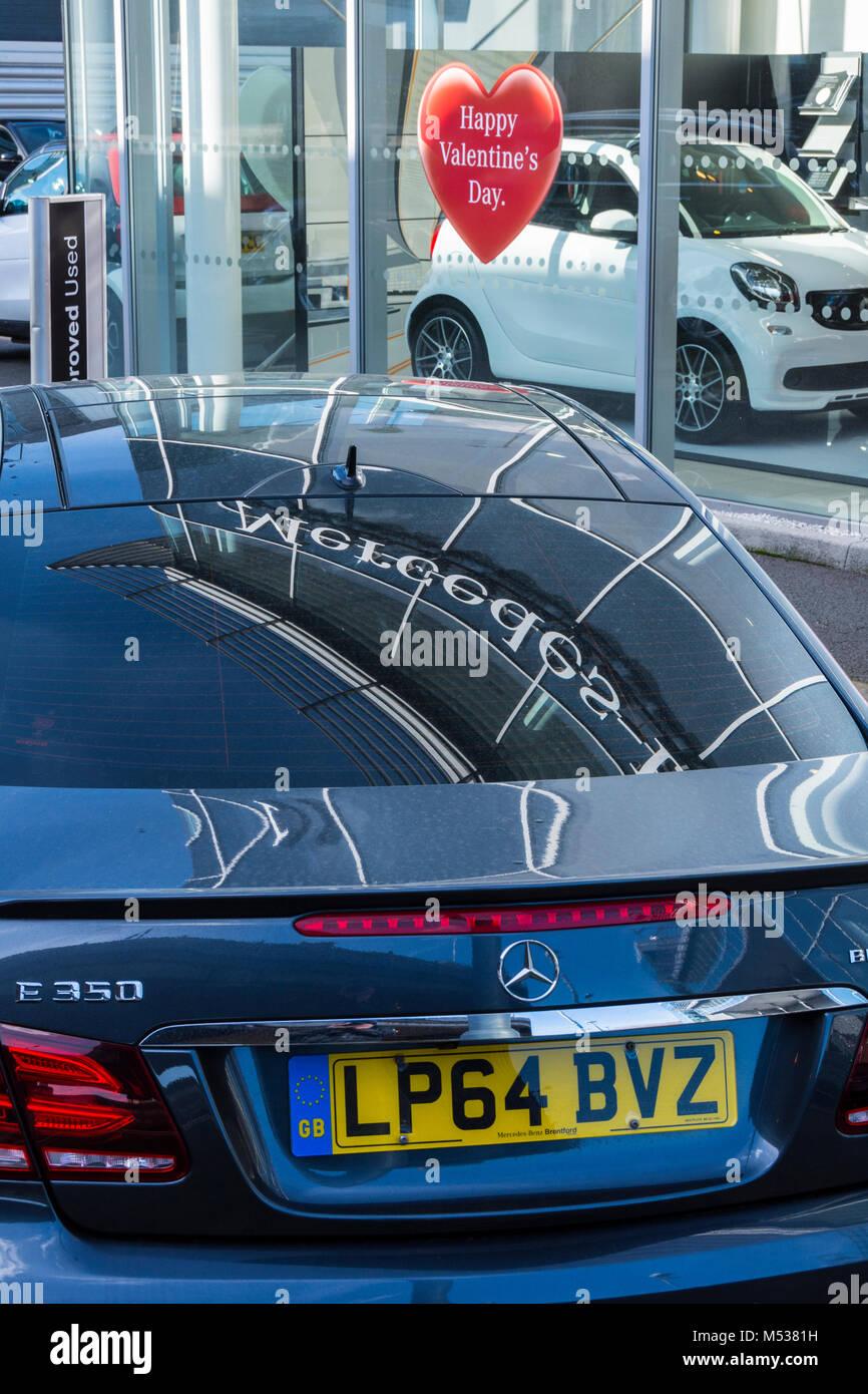 Mercedes dealership stock photos mercedes dealership for Mercedes benz los angeles dealers