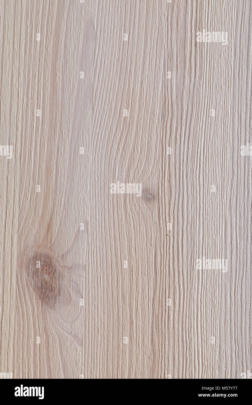 White colored pine wood texture - Stock Image