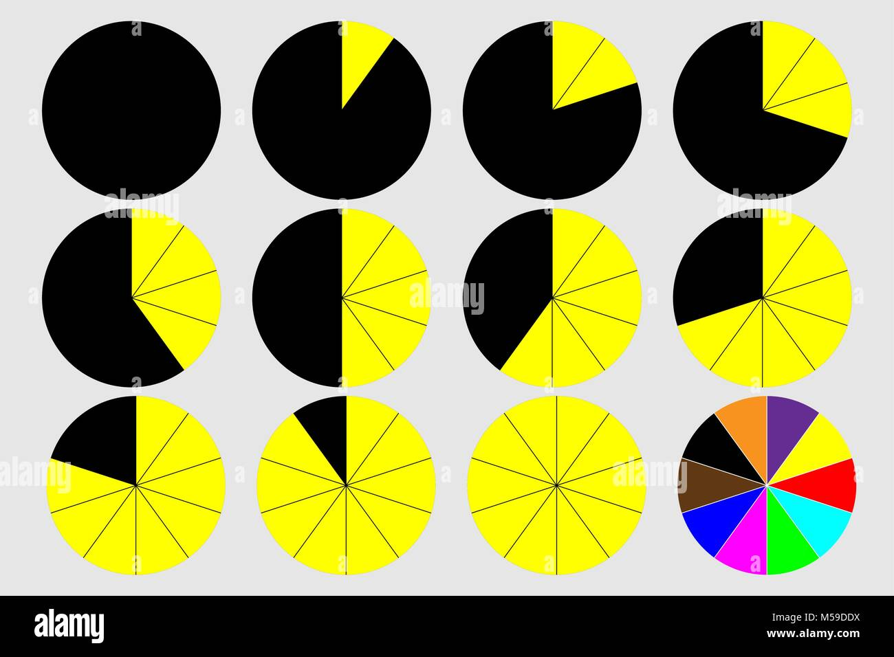 Chart Statistics Black Background Stock Photos Amp Chart