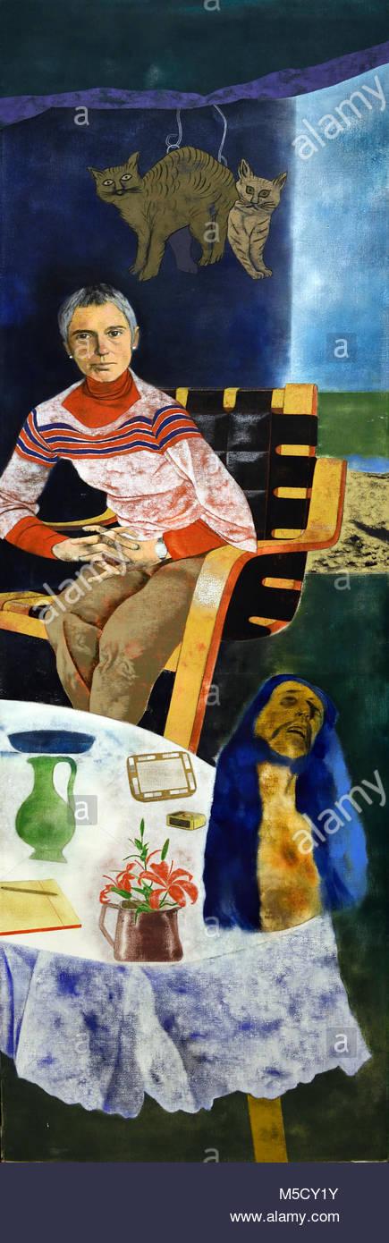 The Hispanist (Nissa Torrents)  The Hispanist - ( Nissa Torrents ) 1977-1978 Kitaj, Ronald Brooks ( Cleveland, Ohio, - Stock Image