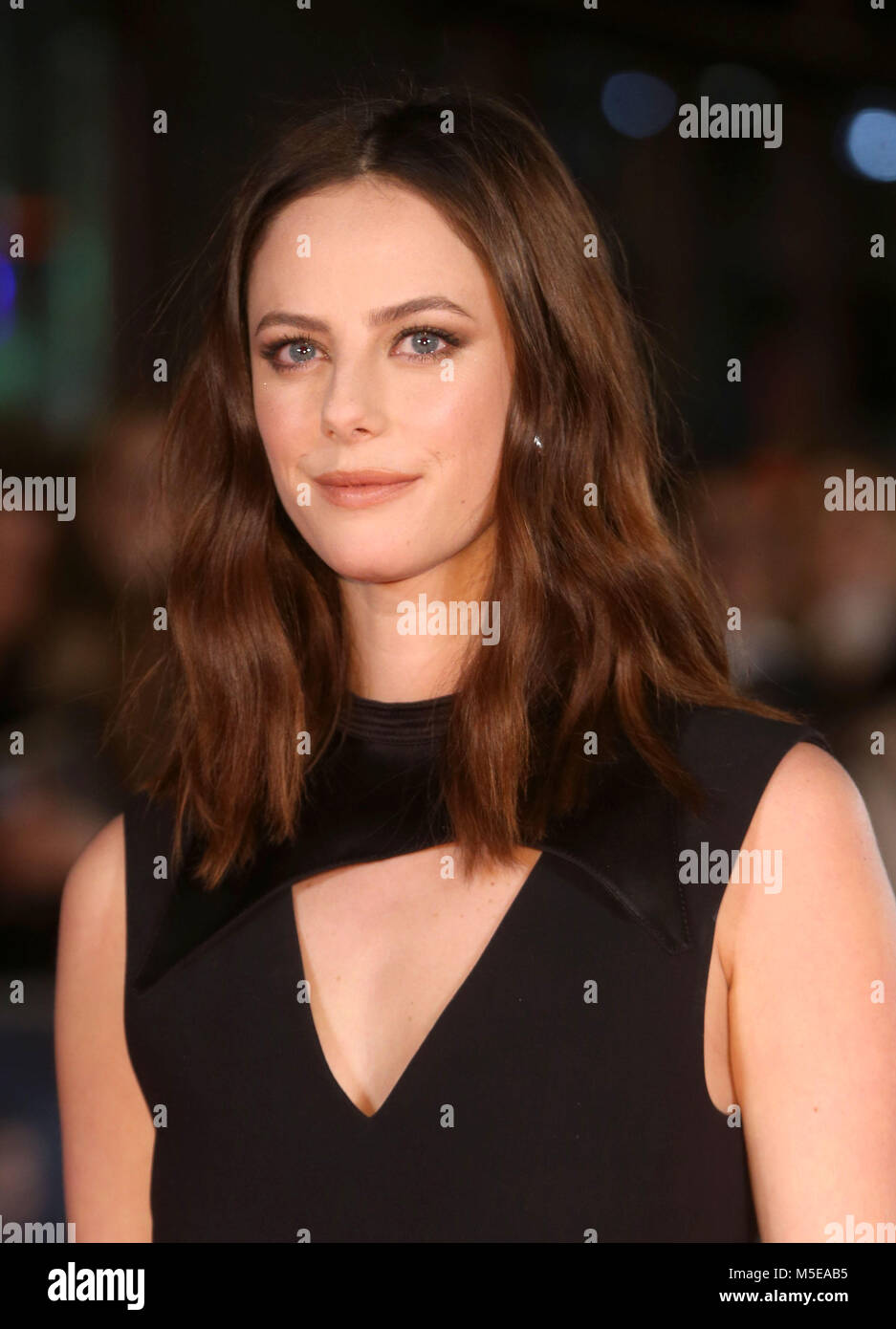 Maze Runner: The Death Cure Fan Screening at VUE Leicester Square  Featuring: Kaya Scodelario Where: London, United - Stock Image