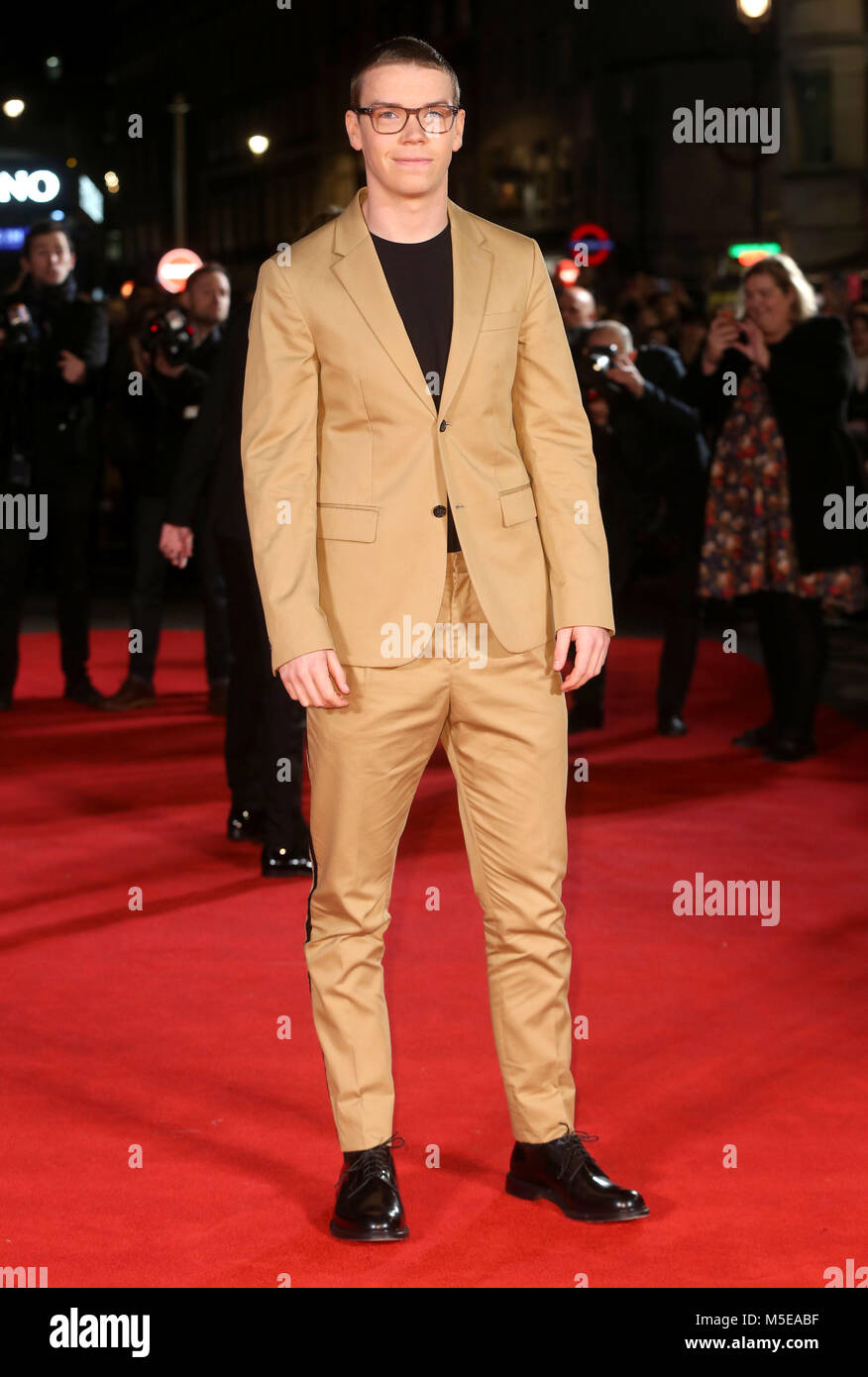 Maze Runner: The Death Cure Fan Screening at VUE Leicester Square  Featuring: Will Poulter Where: London, United - Stock Image