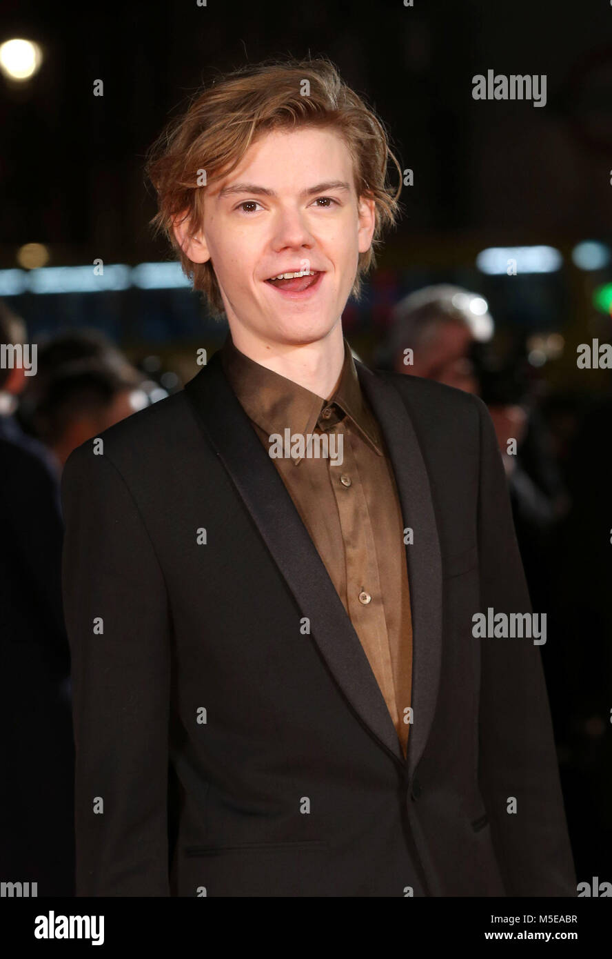 Maze Runner: The Death Cure Fan Screening at VUE Leicester Square  Featuring: Thomas Brodie-Sangster Where: London, - Stock Image