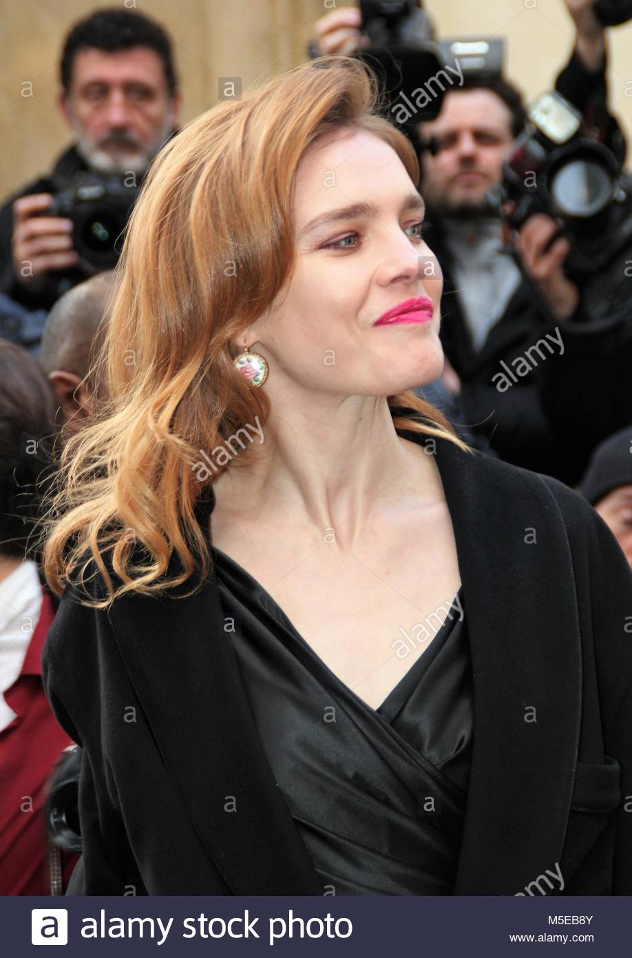 Paris Fashion Week - Christian Dior Haute Couture Spring Summer 2018 show - Arrivals  Featuring: Atmosphere, Natalia - Stock Image
