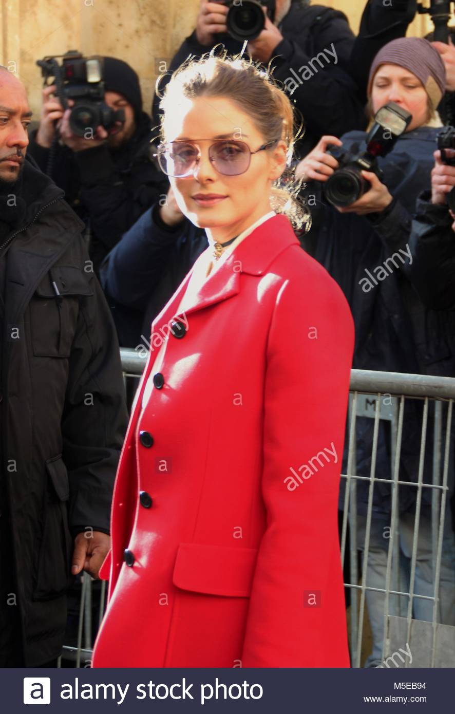 Paris Fashion Week - Christian Dior Haute Couture Spring Summer 2018 show - Arrivals  Featuring: Olivia Palermo - Stock Image