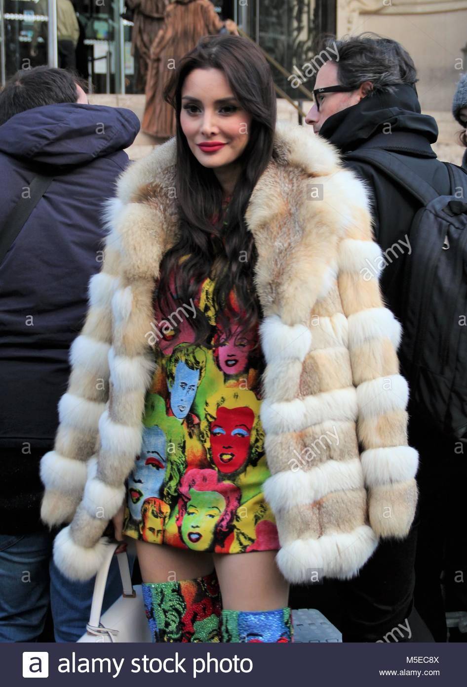 Paris Fashion Week Haute Couture - Ralph & Russo show - Arrivals  Featuring: Deborah Hung Where: Paris, France - Stock Image