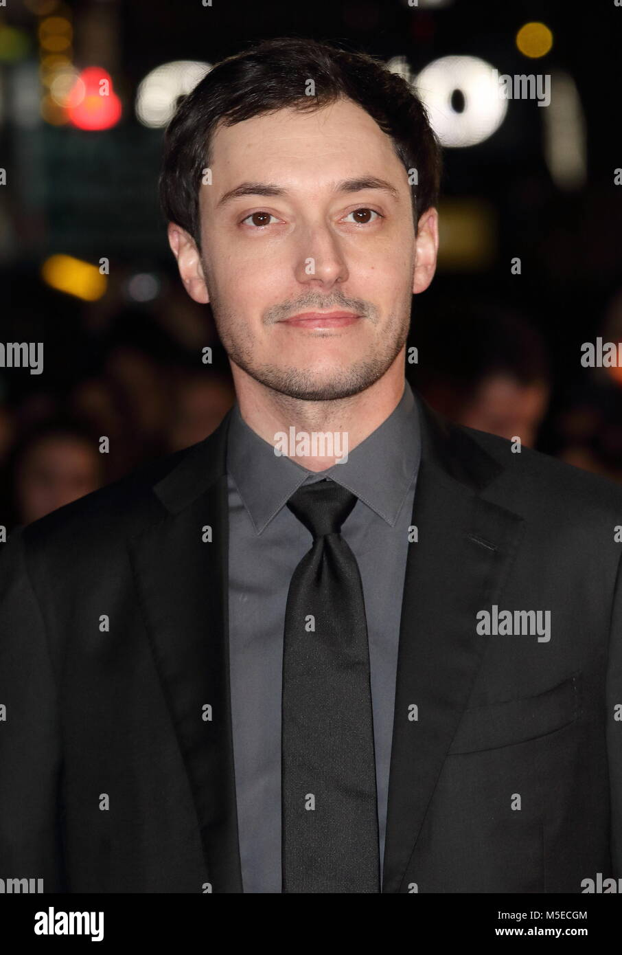 Maze Runner: The Death Cure UK Fan Screening at Vue West End in Leicester Square - Arrivals  Featuring: Wes Ball - Stock Image