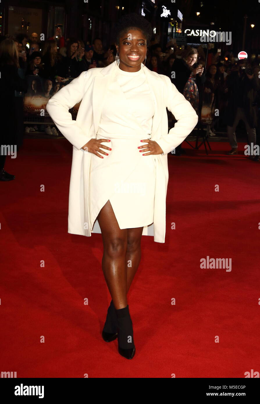 Maze Runner: The Death Cure UK Fan Screening at Vue West End in Leicester Square - Arrivals  Featuring: Clara Amfo - Stock Image