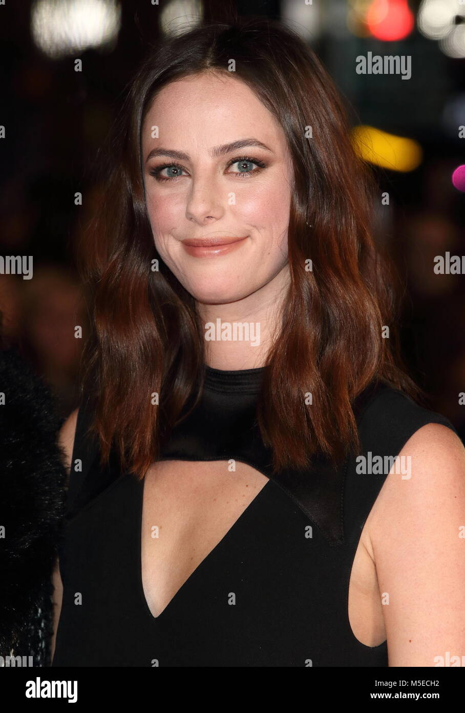 Maze Runner: The Death Cure UK Fan Screening at Vue West End in Leicester Square - Arrivals  Featuring: Kaya Scodelario - Stock Image