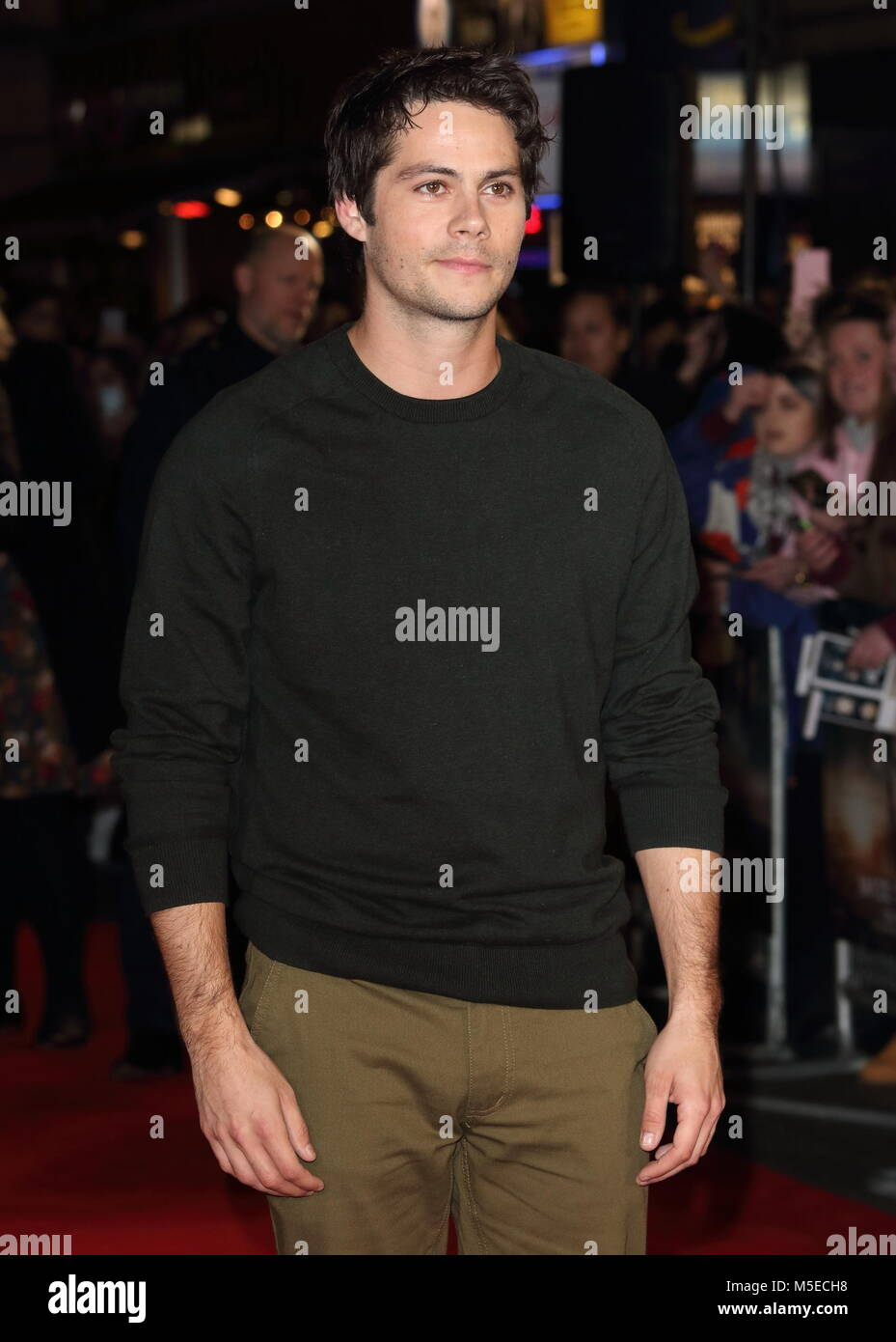 Maze Runner: The Death Cure UK Fan Screening at Vue West End in Leicester Square - Arrivals  Featuring: Dylan O'Brien - Stock Image