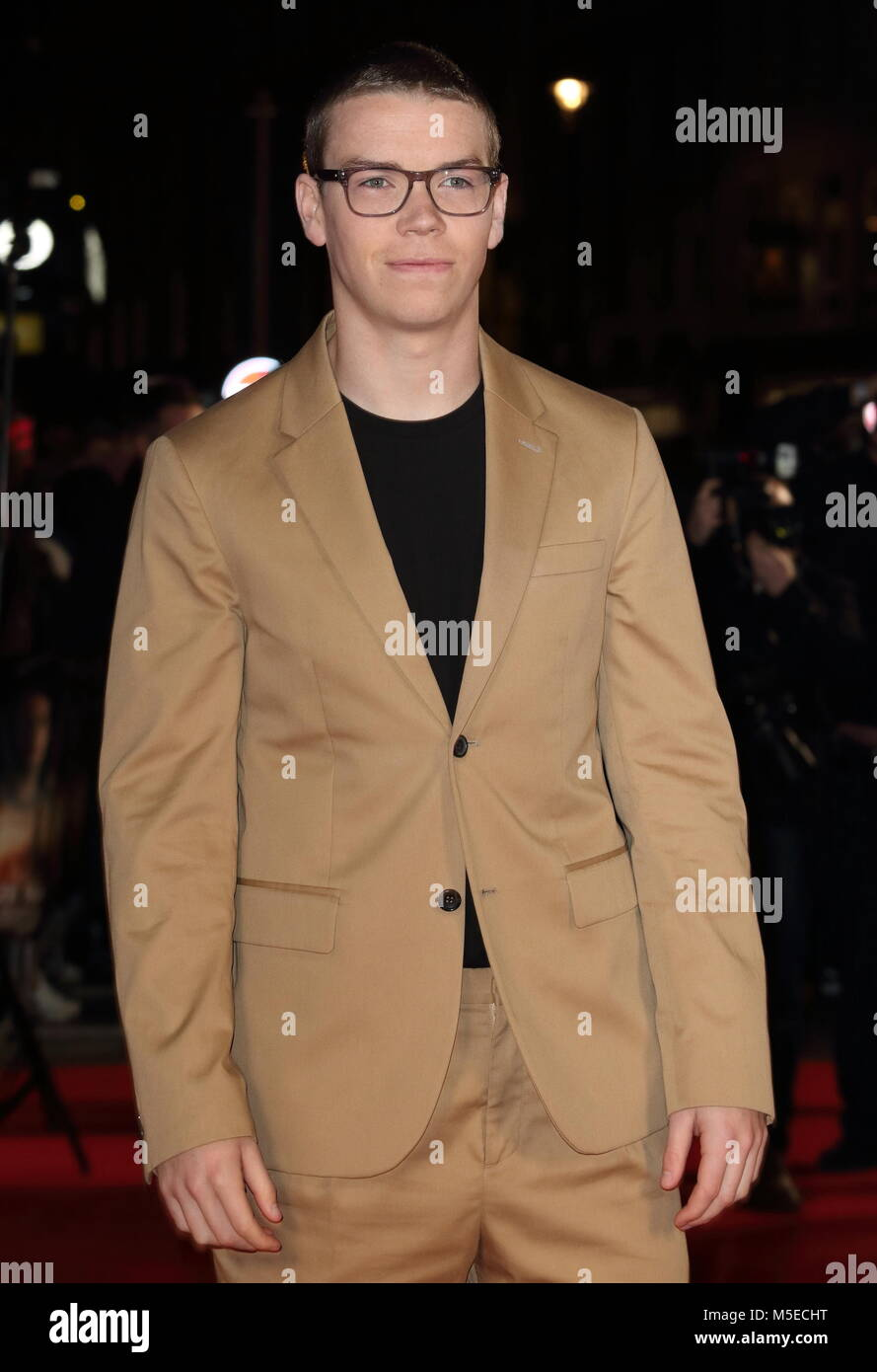 Maze Runner: The Death Cure UK Fan Screening at Vue West End in Leicester Square - Arrivals  Featuring: Will Poulter - Stock Image