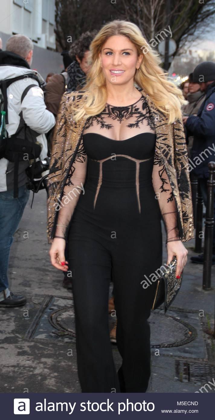 Paris Fashion Week Haute Couture - Ralph & Russo show - Arrivals  Featuring: Hofit Golan Where: Paris, France - Stock Image