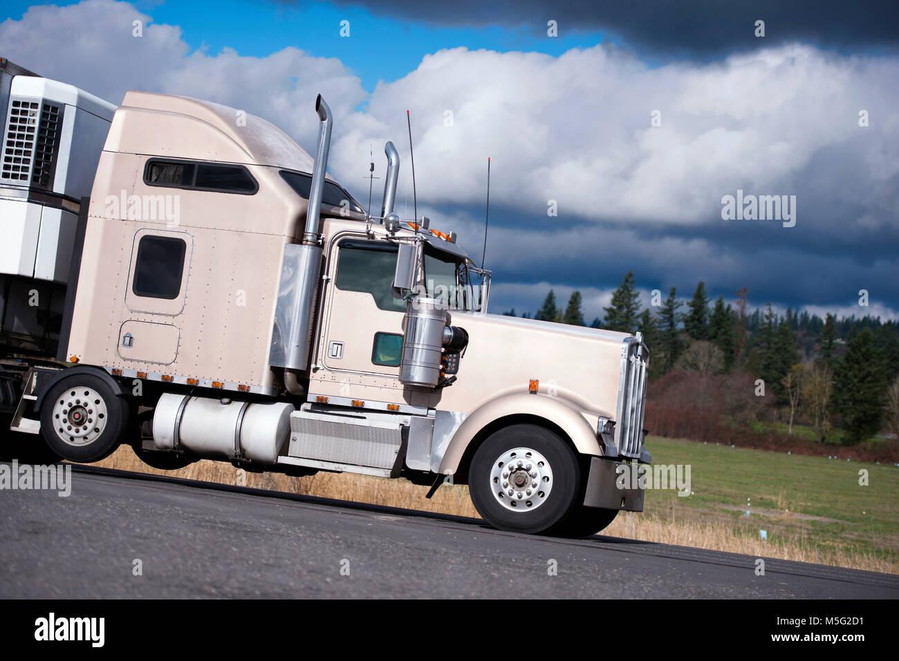 Semi Tractor Accessories : Semi truck lights stock photos