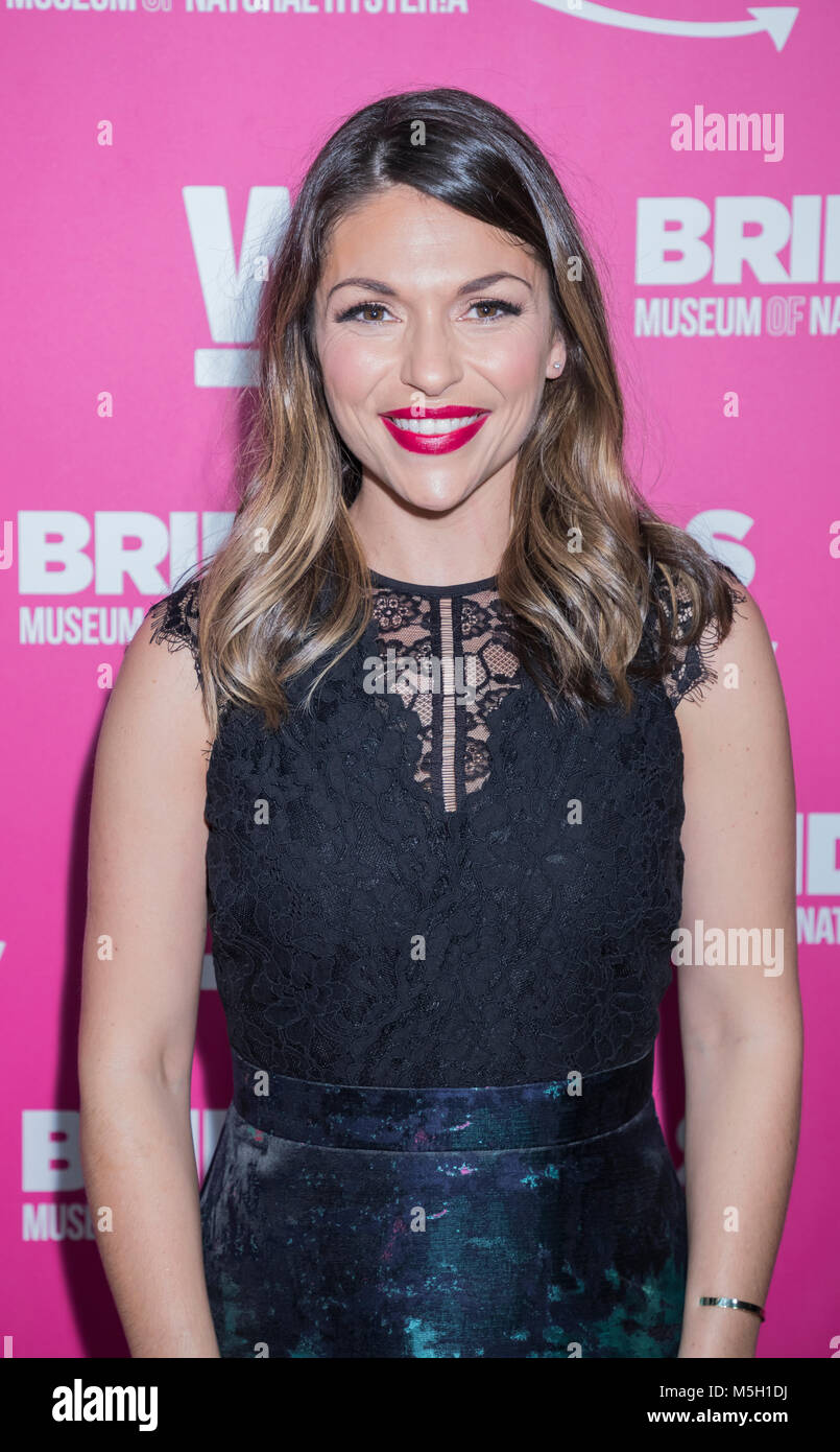 New York, USA. 22nd Feb, 2018. Deanna Pappas attends WE TV Launches Bridezillas Museum Of Natural Hysteria at Arena, - Stock Image