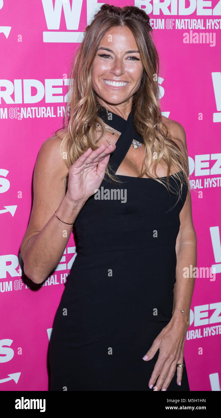 New York, USA. 22nd Feb, 2018. Kelly Bensimon attends WE TV Launches Bridezillas Museum Of Natural Hysteria at Arena, - Stock Image