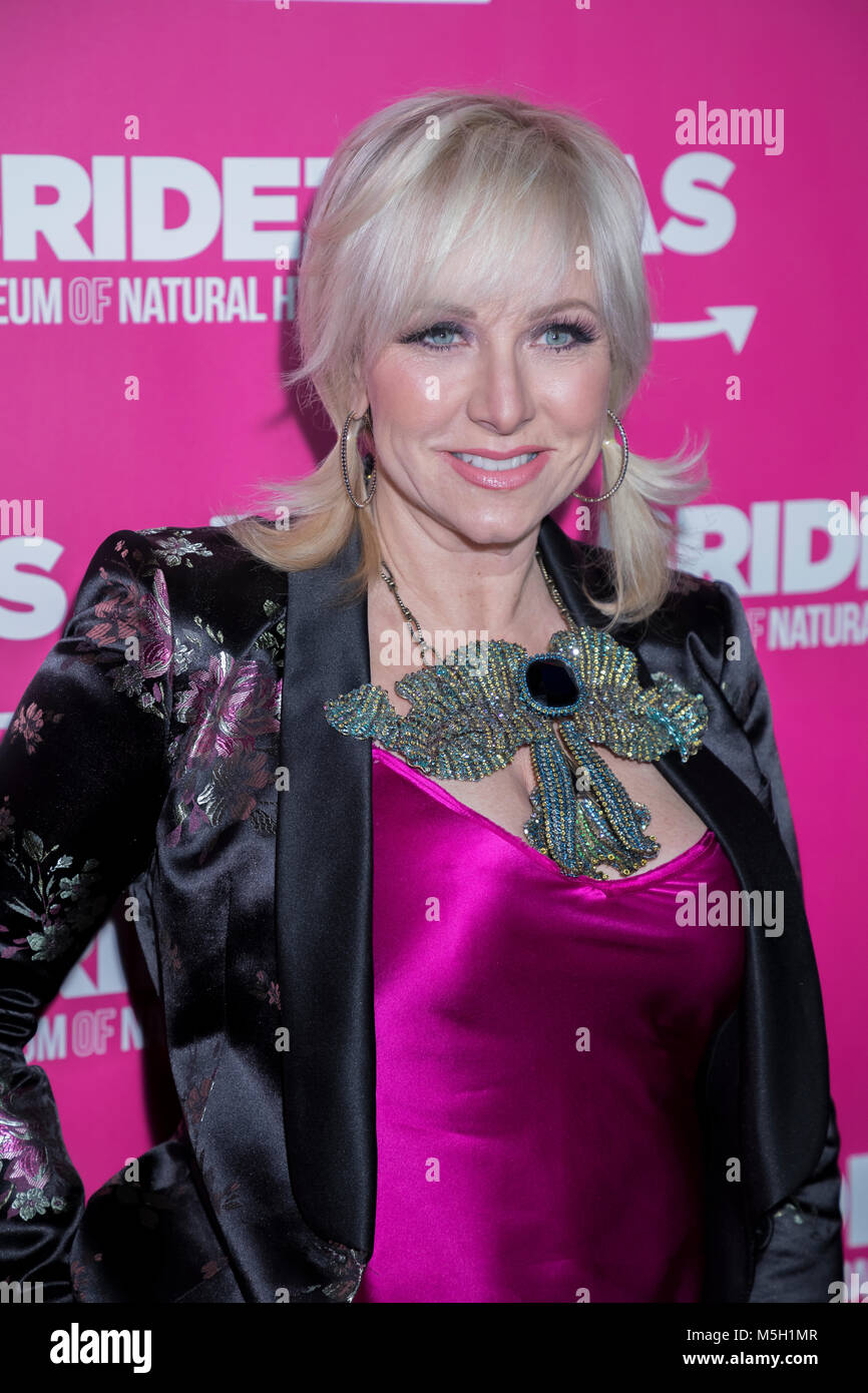 New York, USA. 22nd Feb, 2018. Margaret Josephs attends WE TV Launches Bridezillas Museum Of Natural Hysteria at - Stock Image