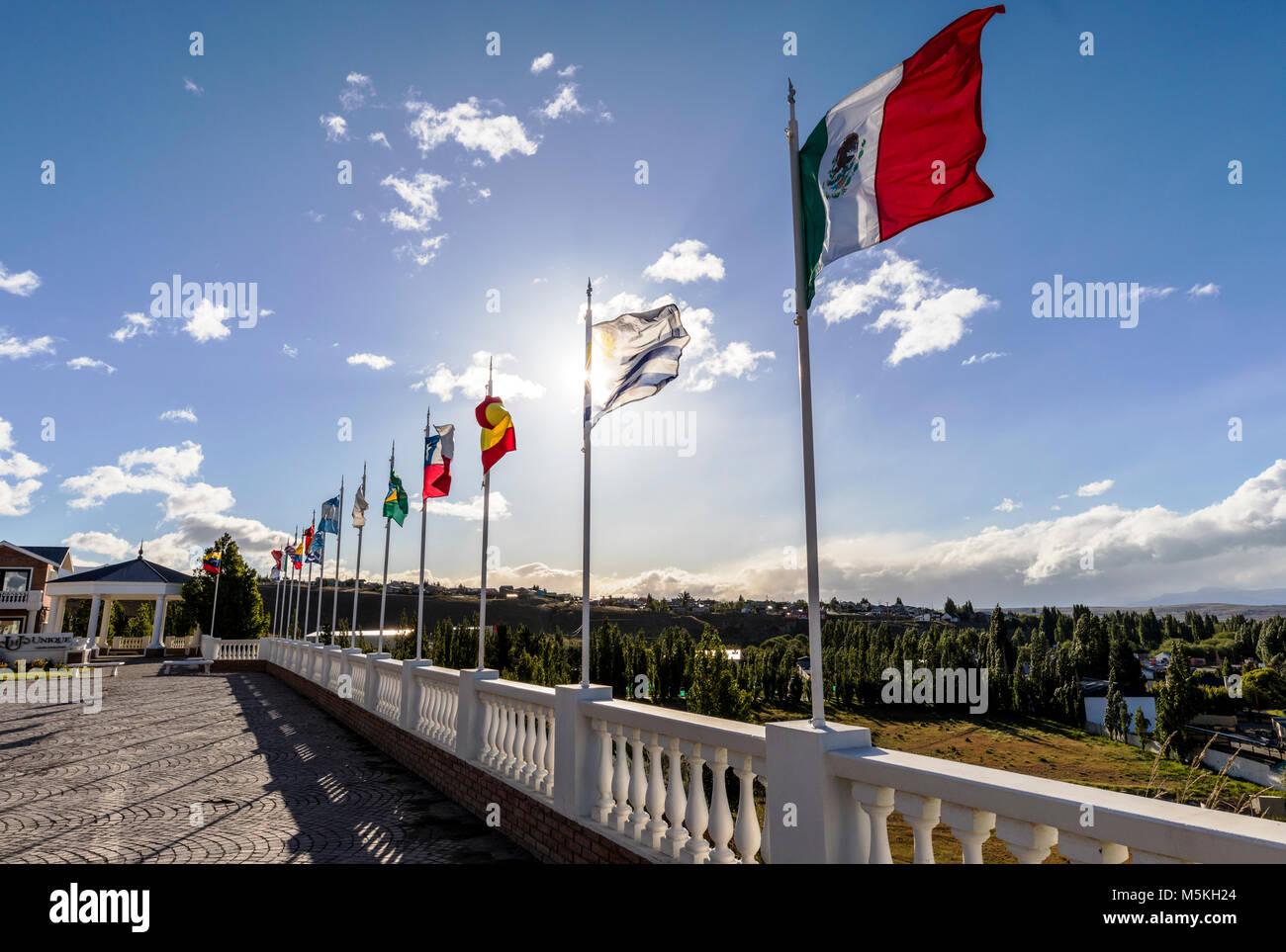 National flags festival stock photos national flags for Hotel unique luxury calafate tripadvisor